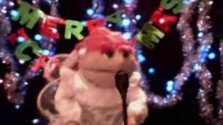 Puppet singing Suzy Snowflake Rosemary Clooney