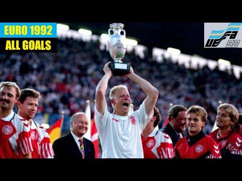 UEFA Euro 1992 in Sweden. All Goals.