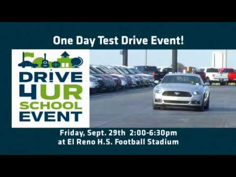 Drive 4 Ur School with Diffee Ford Lincoln & El Reno High School