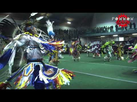 Mens Fancy Feather Song 2 @ Morley Powwow 2017