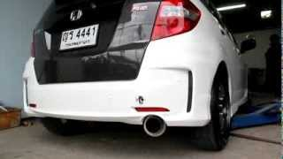 Honda Jazz Ge with Dride exhaust System Full Set!!! Type 1