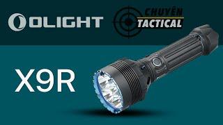 Mở Hộp Đèn Pin Siêu Sáng OLIGHT X9R - Chuyentactical.com