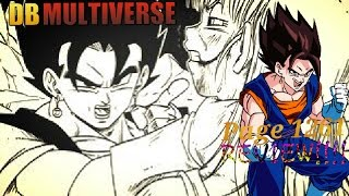 Dragon Ball Multiverse: Chapter 55 - Drop The Act! Page 1261 REVIEW!!!!