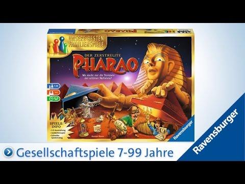 Spiele Ravensburger 266562  Der zerstreute Pharao