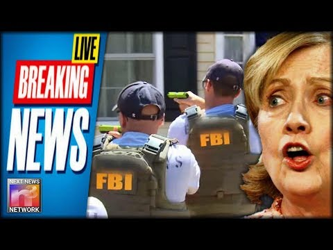 BREAKING: FBI Just Raided Home of Clinton Foundation Whistle