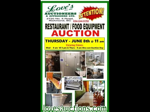 Berkel Mixer featured in LOVE'S AUCTIONS - JUNE 8th @ 11 am - Restaurant Equipment Auction