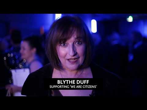 Blythe Duff supports We Are Citizens