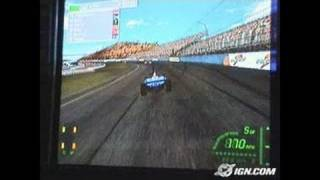 IndyCar Series 2005 PlayStation 2 Gameplay - E3 2004