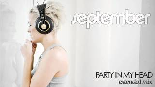 September - Party In My Head (Extended Mix)