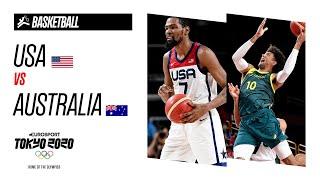USA vs AUSTRALIA   BASKETBALL Men's Semi-Final - Highlights