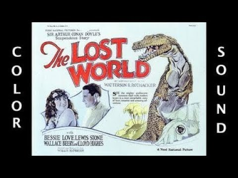 THE LOST WORLD REDUX 1925 colorized & sound