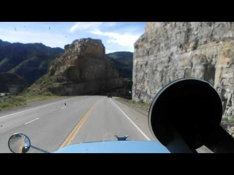 trucker Utah canyon