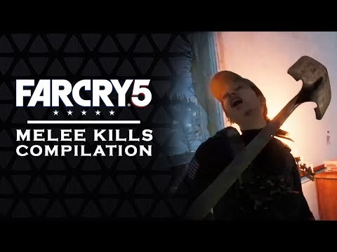 FAR CRY 5 - MELEE KILLS | A compilation of kills  [FC5]