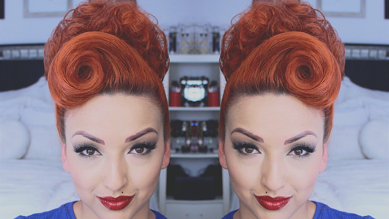 perfect pinup hair tutorial