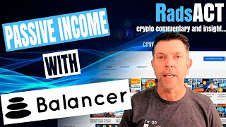 Passive income with Balancer (BAL) a DeFi decentralized exchange protocol