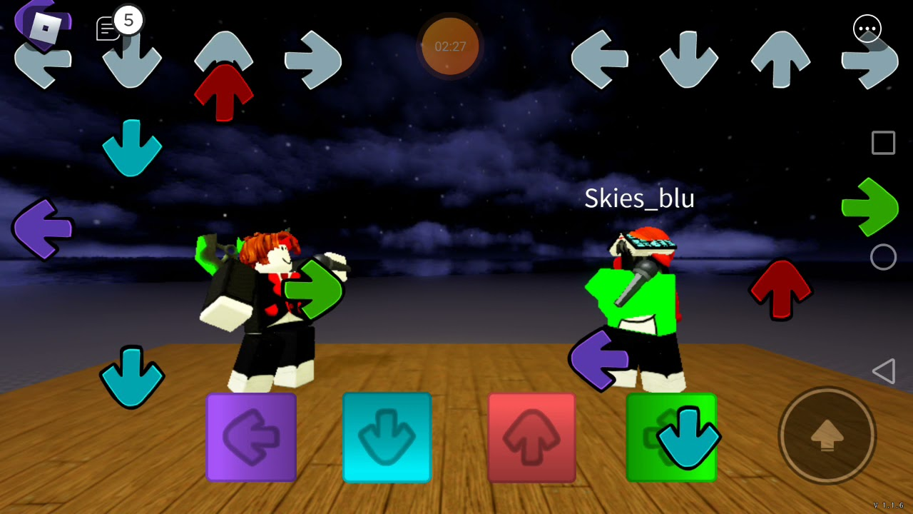 Basically fnf roblox game(im bad at this a bit ;-;) - YouTube