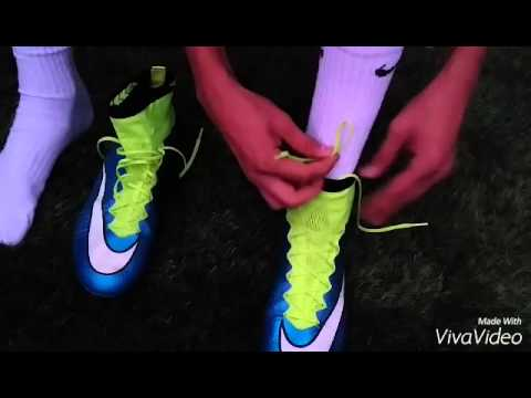 How to tie your soccer/football boots - tips