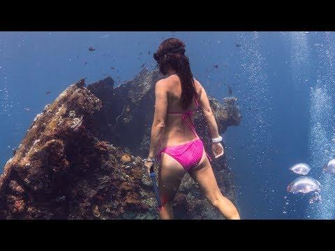 Freediving Bali - PADI Womans Day 2017