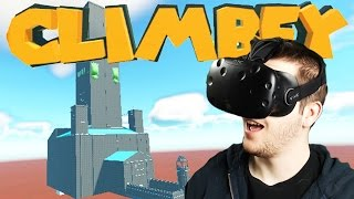 Climbing with Blitz! - Climbey Gameplay - Climbey VR HTC Vive