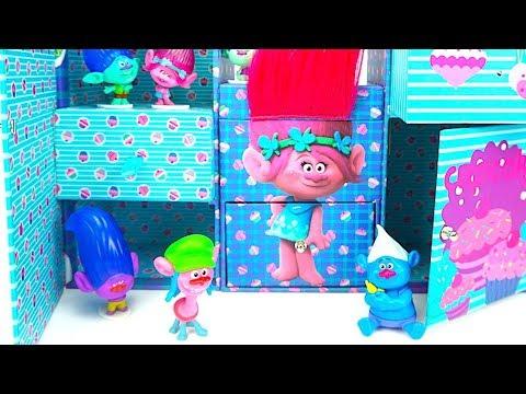 Сюрпризы и Куклы из мультика Тролли