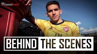 Behind The Scenes  201920 Adidas Away Jersey Kit Shoot In London
