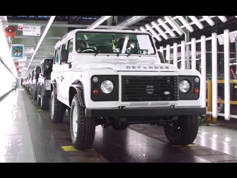 2015 Land Rover Defender Production Line Part 1 2 Factory