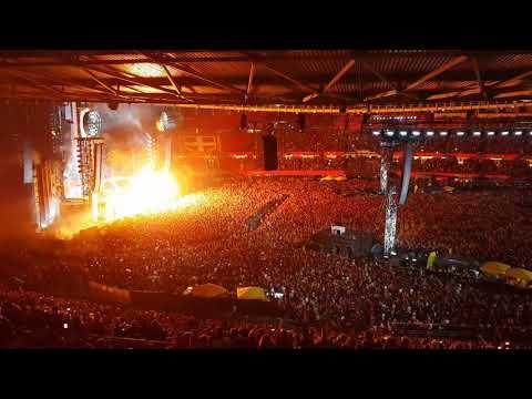 Rammstein - Du Hast 22.8.2019 Vienna Ernst Happel Stadium 10/10