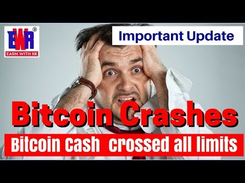 Bitcoin Crash ? Bitcoin Cash Crossed All Limits, Coinbase, Gdex Support, Latest Update