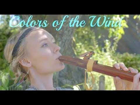Colors of the Wind  Pocahontas Native American Flute