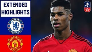 Download Dramatic Scenes as United Get Revenge!   Chelsea 0-2 Manchester United   Emirates FA Cup 2018/19 Mp3 and Videos