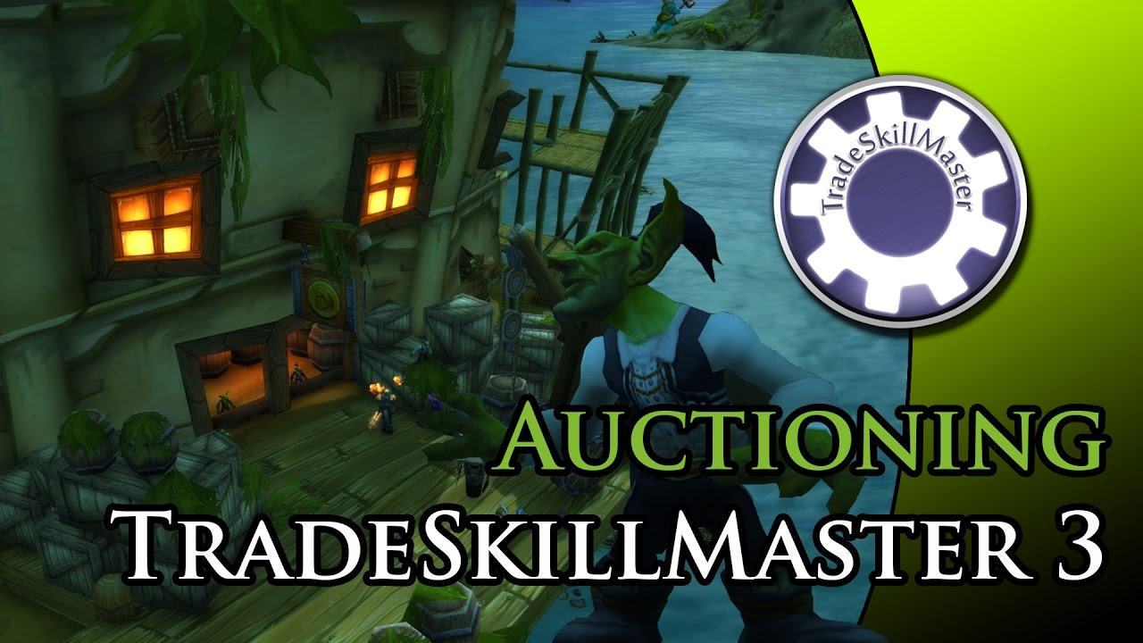 TSM 3 - How to set up selling rules (Auctioning)