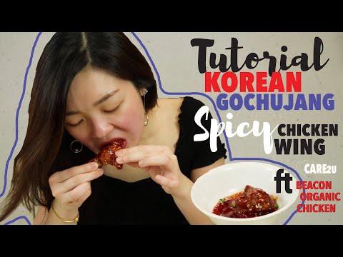 Korean GochuJang Spicy Chicken Wing