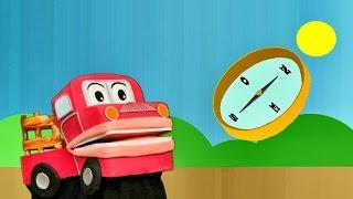 Los Puntos Cardinales- Este Oeste Norte Sur  - Barney El Camion - Video para niños #