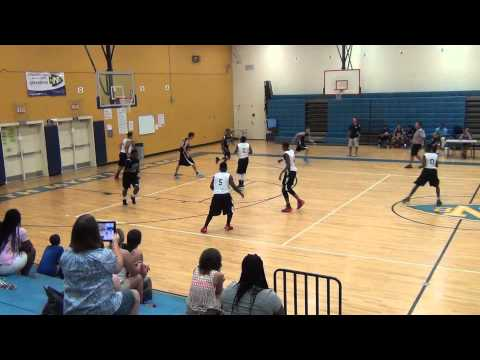 South River 8th Grade vs Carolina Phenoms 7/9/14 @ USBA Nationals in Myrtle Beach