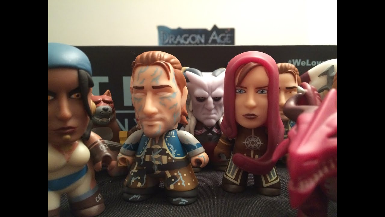 "3/"" Dragon Age Titans Heroes Of Thedas Collection Mini Figure Toy Varric"