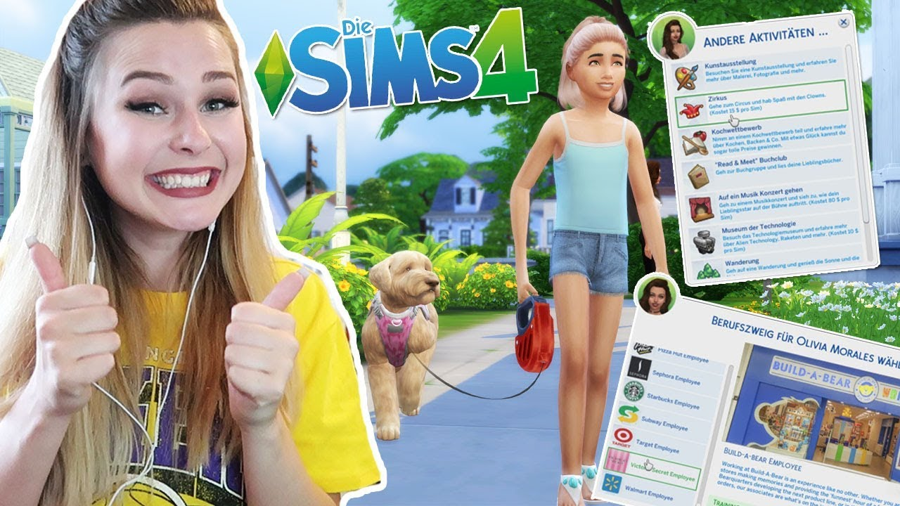 Mods Die Sims 4 Noch Besser Machen Bei Starbucks Arbeiten Mehr Simfinity Youtube