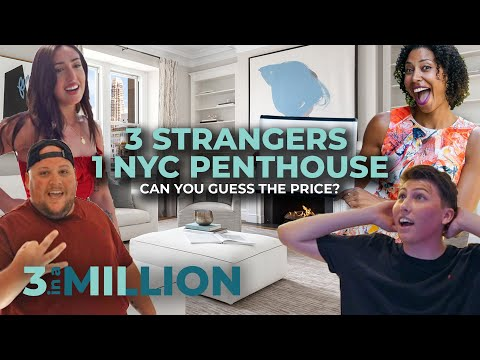 3 Strangers Explore a Massive NYC Penthouse | 3 in a Million