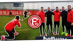 Unser Probetraining bei Fortuna Düsseldorf | Instinkt Training mit Profis