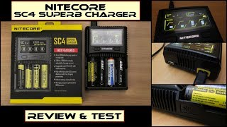 Nitecore SC4 Superb Charger: Review & Test