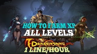 How To Farm XP! Fast & Easy | Drakensang Online