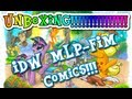 My Little Pony Friendship is Magic IDW Comics unboxing Issue 1