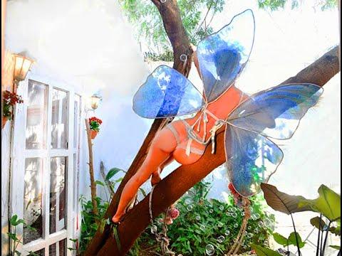 ensaio sensual borboleta azul by Gina Stocco