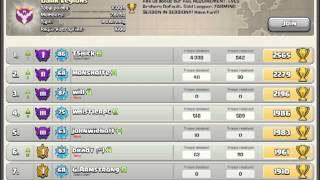 Guess whos back - 834K and 629K raid replays - Clash of Clans.