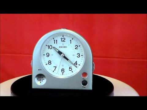 【hd】 Seiko メロディーアラームクロック Qm 508g Melody Vintage Clock Doovi