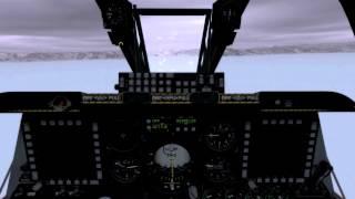 DCS WORLD A 10C   ILS Landing Batumi   No Visibility