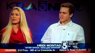Dec 9 2013 Heidi Montag and Spencer Pratt talk about new E Special