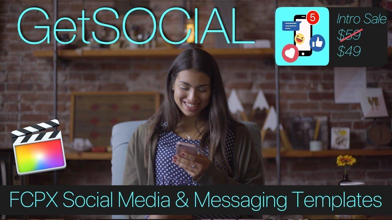 GetSOCIAL – Social Media Final Cut Pro X Templates