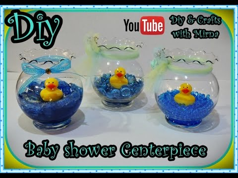 craft ideas for baby shower diy baby shower centerpiece diy amp crafts with mirna 6129