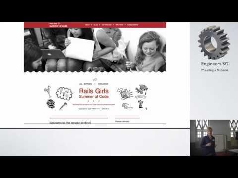 Linda Liukas - Rails Girls Singapore (RDRC Edition) 2015