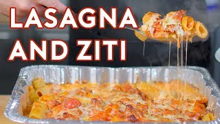Download Binging with Babish: Ziti and Lasagna from The Sopranos Mp3 and Videos
